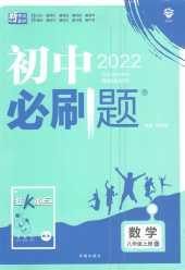 2021年初中必刷题八年级数学上册人教版