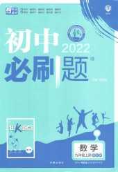 2021年初中必刷题(五四制)(山东专版)九年级数学上册鲁教版