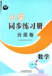 2021年小学同步练习册分层卷(五四制)二年级数学下册通用版