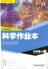 2020年科学作业本(H)(B)九年级科学上册