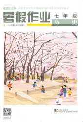 2019年开心假期暑假作业七年级历史通用版武汉出版社