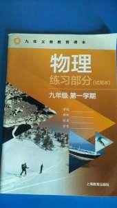 2020年物理练习部分九年级物理上册沪教版