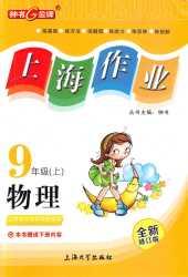 2020年上海作业(上海专版)九年级物理上册