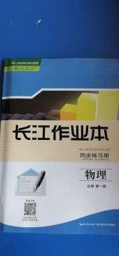 2020年长江作业本同步练习册物理必修第一册人教版