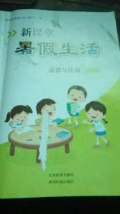 2020年新课堂暑假生活四年级政治通用版北京教育出版社