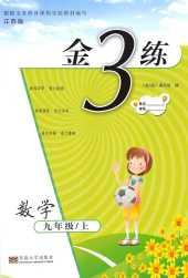 2021年金3练九年级数学上册江苏版