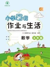 2020年小学暑假作业与生活五年级数学通用版C陕西人民教育出版社