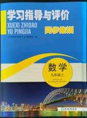 2021年学习指导与评价九年级数学浙教版