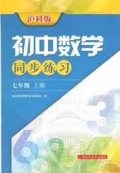 2021年同步练习七年级数学上册沪科版
