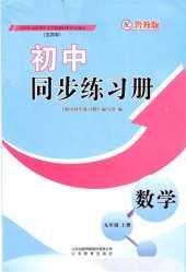 2020年初中同步练习册(五四制)九年级数学上册鲁教版
