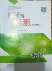 2021年解析与检测初中物理上册河南专版