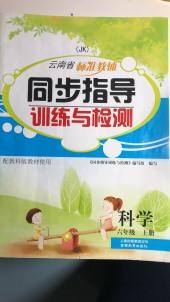 2019年云南省标准教辅同步指导训练与检测六年级科学上册教科版