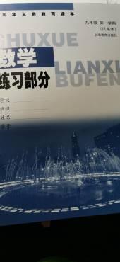 2019年练习部分九年级数学上册沪教版