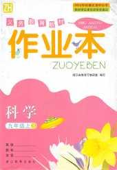 2020年作业本(B版)九年级科学上册浙教版