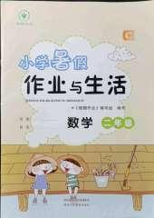 2021年暑假作业与生活二年级数学C版陕西人民教育出版社