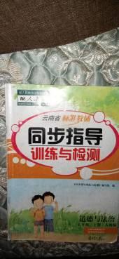 2020年同步指导训练与检测五年级政治上册人教版云南专版
