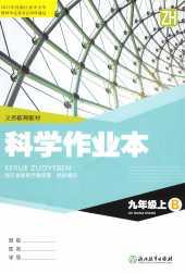 2021年科学作业本九年级科学上册浙教版